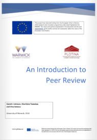 Introduction to Peer Review Guide-front